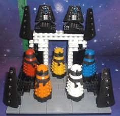 Doctor who #character building - #dalek #progenitor paradigm 5 figure set - dwc11,  View more on the LINK: http://www.zeppy.io/product/gb/2/161891199285/