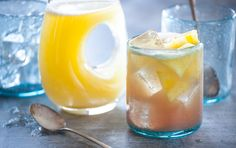 Perfect for Brunch. Sweet and tart, this spring wine cocktail is made with juicy fresh pineapple, dry Chardonnay and fragrant green tea. Make ahead and keep chilled until ready to serve.