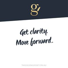 Get clarity. Move forward. I'll teach you how to build a distinct, sparkly brand that fits YOU. Visit >> www.thegoldengoose.com.au #brandstrategy