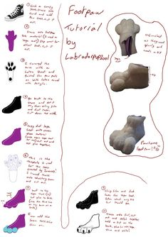 Foot paw tutorial