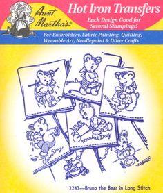 Aunt Martha 3243 - Bruno the Bear