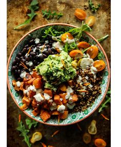 Cuban Quinoa Bowl with Spicy Lemon Cashe. - Cuban Quinoa Bowl with Spicy Lemon Dressing (Vegan and Gluten-Free) - Smoothies Vegan, Whole Food Recipes, Cooking Recipes, Cooking Food, Healthy Cooking, Vegetarian Recipes, Healthy Recipes, Free Recipes, Vegetarian Bowl