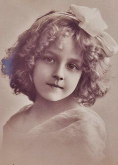 1900s Child hair style