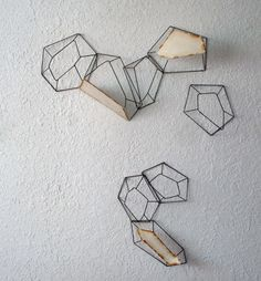 peppermags: Etsy | Geometric wall art