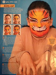 DIY face painting
