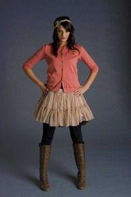 Cardi lace skirt