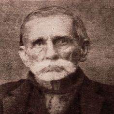 """Randolph """"Ole Ran'l"""" McCoy~ American Pioneer & Patriarch of the McCoy clan involved in the infamous Hatfield-McCoy feud. During the almost 30 yr. feud w/ the Hatfield's, Randolph lost five of his children to the violence & another to what most considered """"a broken heart."""""""