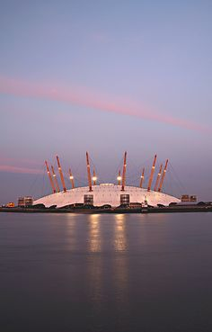 The Millenium Dome, London by Arpad Lukacs. Went here for the Millenium Exhibition and was under-whelmed along with everybody else...