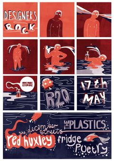 Designers Rock Poster on Behance
