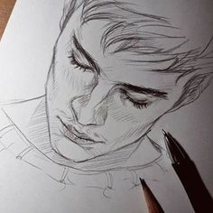 Handwriting in the night - holy # sketch # sketchbook # spring drawing . - Handwriting in the night – holy # sketch # sketchbook # spring drawing … – # - Pencil Art Drawings, Art Drawings Sketches, Cool Drawings, Drawing Drawing, Sketches Of Boys, Drawings Of Men, Boy Sketch, Drawing Faces, Art Illustrations