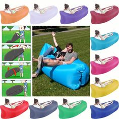 Nuovo Arrivo!!! gonfiabile Letto Aria/Divano per Esterni Air Bag Divano Pigro Super Leggero Ultralight Camouflage Escursionismo Camping Spiaggia Viaggi