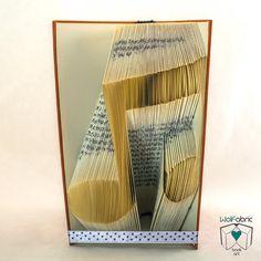 MUSIC NOTE sillhouette folded book art-Personalized Wedding Gift- book art- book origami - Instrument - Rock - Guitar - Teacher - E181