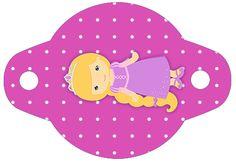 Enfeite Canudinho Princesa Loira Princess Rapunzel, Outdoor Decor, Blond, Party Kit, Kids Part, Embellishments, Princess