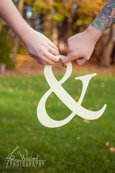 Wooden Ampersand 12 size Wedding Photo by PersonalizedMonogram, $12.75