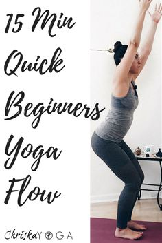 This is a quick and simple 15 minute yoga flow for beginners. It's great if you're short on time and looking to add a bit of movement into your day!