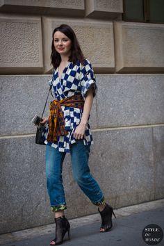Jane Aldridge Sea of shoes Street Style Street Fashion Streetsnaps by STYLEDUMONDE Street Style Fashion Photography