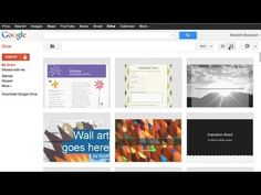 """The Art Room Digitized and Organized in the Cloud with """"Google Drive"""" - An easy way to turn all of your lesson plans, presentations and resources into digital format and saved in one place. This is my goal this school year!"""