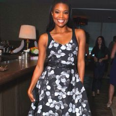 Gabrielle in Jason Wu for Instyle's Dinner with Designers event (4.19.12)