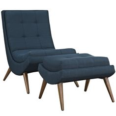 Looking for Modway Ramp Fabric Upholstered Lounge Ottoman Set Azure ? Check out our picks for the Modway Ramp Fabric Upholstered Lounge Ottoman Set Azure from the popular stores - all in one. Chair And Ottoman Set, Style Lounge, Modern Lounge, Barrel Chair, Living Room Modern, Living Rooms, Lounges, Living Room Furniture, Modern Furniture