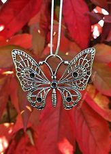 DIVINE NEW BUTTERFLY NECKLACE HIPPIE GYPSY BOHO SILVER PEACE PENDANT CHAIN PAGAN Butterfly Necklace, Hippie Gypsy, Pagan, Jewels, Boho, Chain, Pendant, Peace, Silver