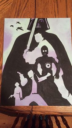 Image result for star wars painting