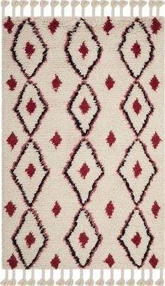 Village art motifs are updated for modern decor in the Safavieh Casablanca Mallory Rug. Hand tufted diamond patterns take on warm, rustic character in the plush wool pile and distinctive coloring for a trendy new look in transitional area rugs. Flokati Rugs, Shag Rugs, Shoe Room, Transitional Area Rugs, Rug Size Guide, Hand Tufted Rugs, Diamond Pattern, Woven Rug, Bohemian Rug
