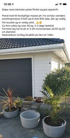 Garage Doors, Outdoor Decor, Plants, Diy, Home Decor, Decoration Home, Bricolage, Room Decor, Do It Yourself