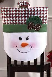 Resultado de imagen para fundas para sillas navidad