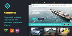 Canava - Logistics and Business WordPress Theme - Business Corporate