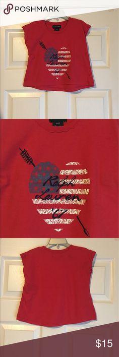Ralph Lauren Girls Top Size 3t In excellent condition Ralph Lauren Shirts & Tops Tees - Short Sleeve