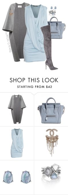 """""""Untitled #3202"""" by stylebydnicole ❤ liked on Polyvore featuring Valentino, Plein Sud Jeanius, Chanel, Chloe + Isabel and Gianvito Rossi"""