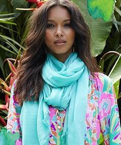 Lilly Pulitzer Resort '13- Elsa Top in Lulu & Castaway Scarf