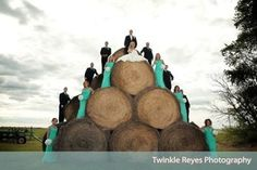 This is a definite must for your wedding photos!! Clearly you are the queen of the castle up there.