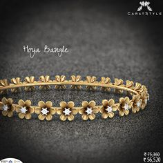Elegance is not standing out, but being remembered. #diamond #bangle