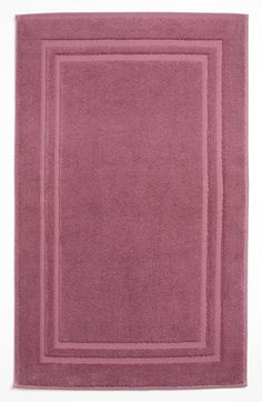 Waterworks Studio Turkish Cotton Bath Mat - Purple (Online Only)
