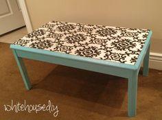DIY Fabric Table Top