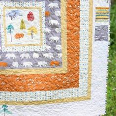 Tutorial | In The Woods Quilt | By Plum and June