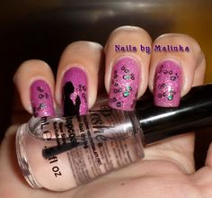 Nails by Malinka: Born Pretty plate BP-69
