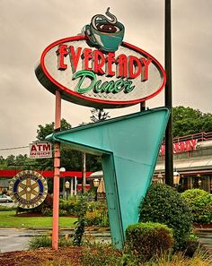 Everyday Diner--love to see this lit at night, with just a bit of haze