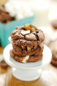 Reese's S'mores Cookies | www.somethingswanky.com