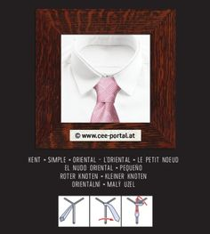KENT × SIMPLE × ORIENTAL ~ L'ORIENTAL × LE PETIT NOEUD EL NUDO ORIENTAL/× PEQUEÑO ROTER KNOTEN/× KLEINER KNOTEN ORIENTÁLNÍ ×/MALÝ UZEL Tie Knots, Oriental, Simple, Shopping, Knots, Hair Bow, Kunst, Pictures