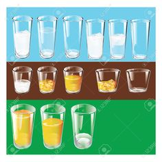 Types Of Drinking Glasses. Set. Vector Illustration. Royalty Free Cliparts, Vectors, And Stock Illustration. Pic 36349551.