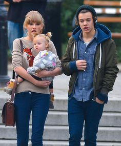 Here's something the universe isn't ready for yet. Thank goodness Taylor Swift and Harry Styles were just borrowing this baby.