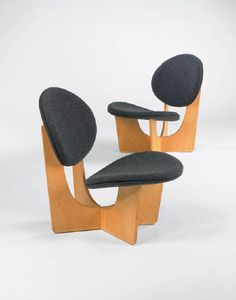 Grete Jalk, Lounge Chair, 1968.