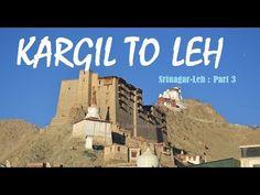 Srinagar to Leh (Part 3)- Kargil To Leh 2017   NamikLa   FotuLa   Lamayu...