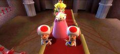 Princess Peach, Luma & Toad