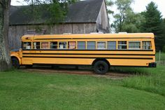 how to convert a bluebird school bus to a camper camping