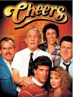 """Cheers """"Where everybody knows your name"""". Cheers went from one of the lowest rated shows during its first season, to the number 1 show on TV a couple years later. Best 80s Tv Shows, 1980 Tv Shows, Great Tv Shows, Favorite Tv Shows, Movies And Tv Shows, V Drama, Beatles, Mejores Series Tv, Emission Tv"""