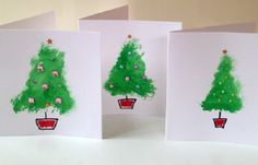 For this year's Christmas, encourage your children to take up crafting Christmas greeting cards that can be sent to your relatives living far from your place. And, making greeting cards can be so much fun too.  51 Christmas DIY Card Idea for kids Cute Christmas Tree DIY Card Here's a simple and
