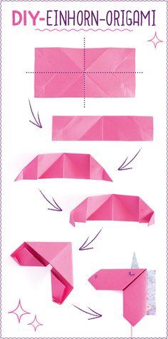 Seid ihr auch dem Einhorn-Zauber verfallen? Mit unserer Faltanleitung bastelt ihr Schritt für Schritt euer ganz privates Einhorn. Los geht's: Ihr braucht: Buntes Papier Effektpapier Schere Kleber Stift So geht's: Als erstes braucht ihr ein rechteckiges Stück Papier (ca. 6 x 12 cm). Halbiert das Rechteck einmal längs. Faltet das Rechteck einmal quer in der [...]